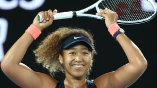 احرزت اوساكا لقبها الثاني في بطولة استراليا المفتوحة على حساب الاميركية جنيفر برايدي