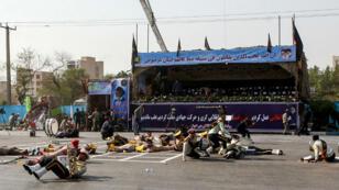 L'attentat a eu lieu lors du défilé militaire à Ahvaz, dans le sud-ouest de l'Iran, samedi 22 septembre.