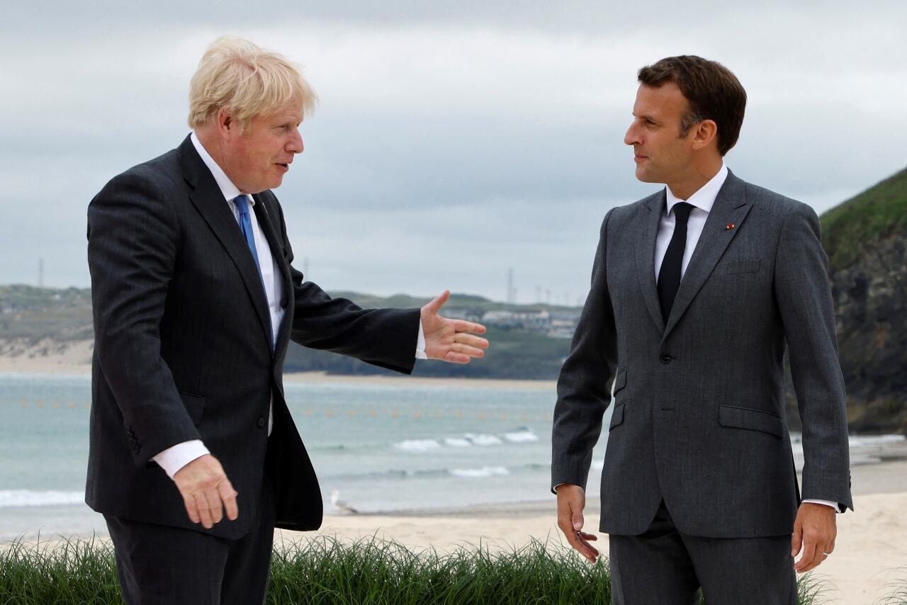 Johnson Macron G7