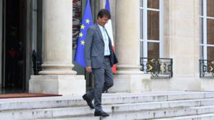 نيكولا هولو وزير البيئة الفرنسي المستقيل.