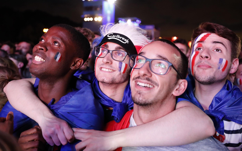 Les Bleus pasaron a finales por tercera vez en su historia.