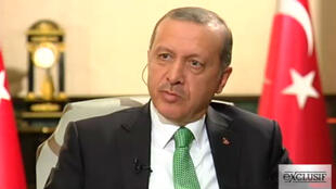 Le président turc Recep Tayyip Erdogan a accordé un entretien exclusif à France 24.