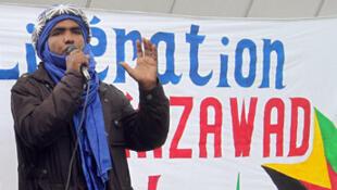 Mossa Ag Attaher, le porte-parole du MNLA