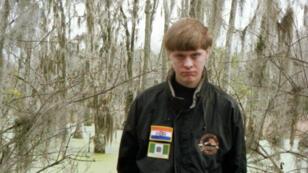 Dylann Roof, auteur présumé de la fusillade de Charleston, en Caroline du Sud, qui a fait neuf morts, le 17 juin 2015.