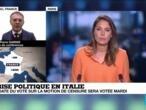 En Italie, le sort du gouvernement n'est toujours pas scellé