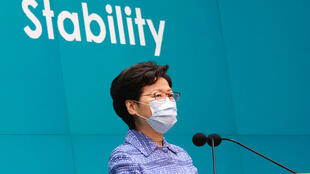 HONGKONG-PROTESTS-CARRIE-LAM