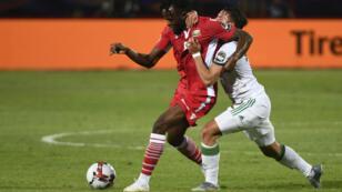 من مباراة كينيا والجزائر في كأس الأمم الأفريقية في مصر 2019