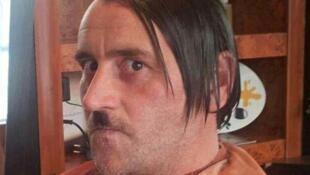 La photo de Lutz Bachmann déguisé en Hitler, à l'origine de sa démission.