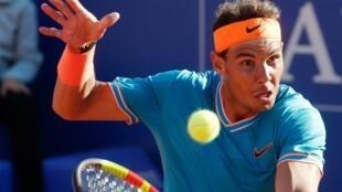 L'Espagnol Rafael Nadal éliminé en demi-finale du tournoi de Barcelone le 27 avril 2019