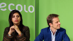 Zakia Khattabi et Patrick Dupriez les co-présidents d'Ecolo (archives).