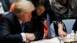 El mandatario estadounidense, Donald Trump, anunció el 26 de septiembre su intención de reunirse con el presidente, Nicolás Maduro para buscar una solución a la crisis.