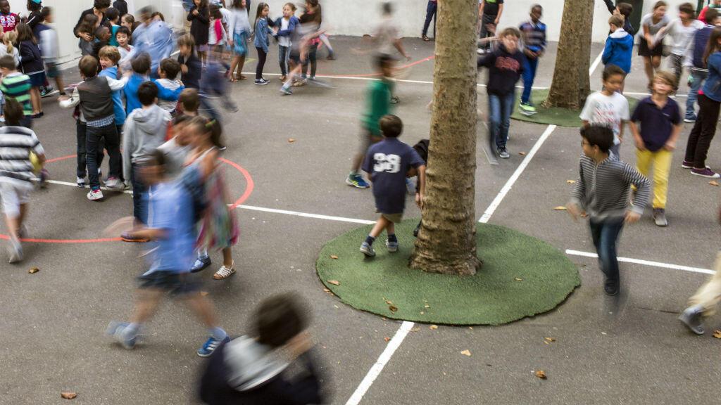 Une école élémentaire parisienne, le 2 septembre 2014.