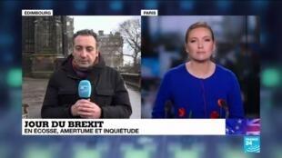 2020-01-31 11:04 Brexit : L'Ecosse indépendante, beaucoup y pensent après un départ forcé de l'UE