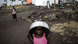 Fighting in eastern Democratic Republic of Congo has forced hundreds of thousands of people from their homes