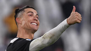Juventus forward Cristiano Ronaldo has returned to Italy from Portugal as Serie A prepares for team training to resume
