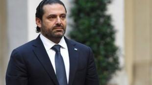 Saad Hariri, primer ministro del Líbano que dimitió este sábado de su cargo por sorpresa desde Arabia Saudita.