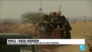 Controverse au Mali après une frappe aérienne de l'armée française