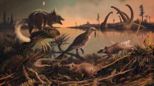 Illustration du paléoartiste Mark Witton, avec son aimable autorisation.