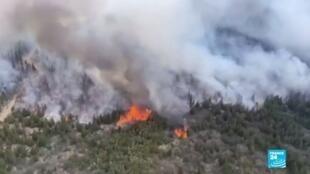 2021-01-27 13:40 Argentina: incendio en Río Negro afecta a más de 6.500 hectáreas de bosque
