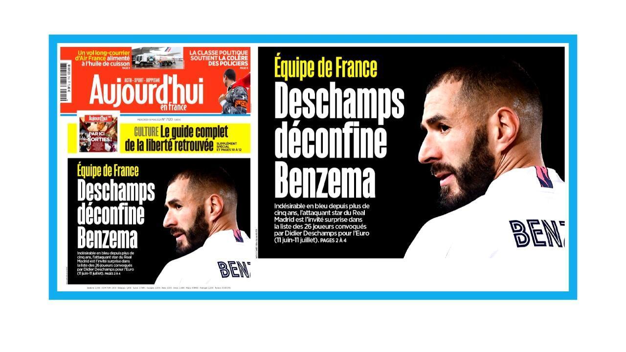 Retour de Karim Benzema chez les Bleus