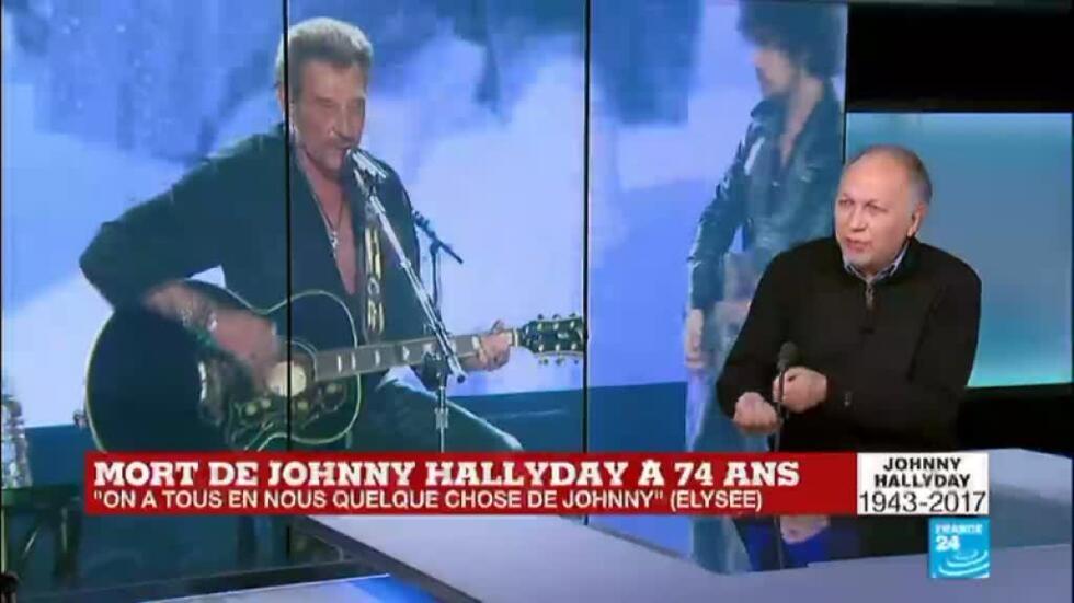 Mort De Johnny Hallyday L Auteur Du Livre Johnny Histoire D Une Vie Se Livre Sur France 24