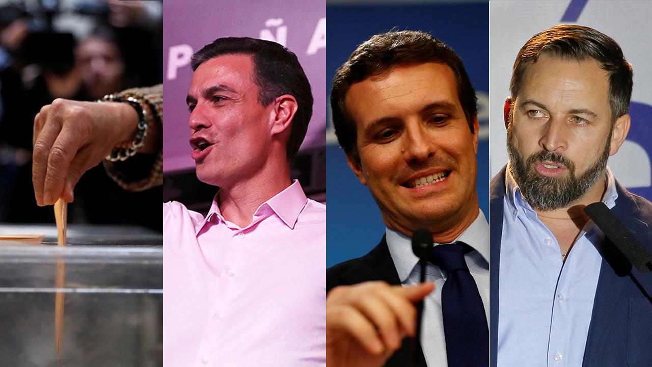 La alta participación electoral, la victoria del PSOE, la debacle del PP y la irrupción de Vox en el legislativo, los hechos que marcaron las elecciones generales del 28A en España.