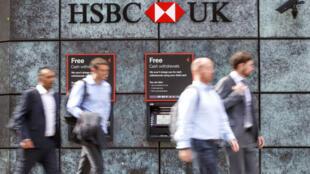 HSBC n'a pas fait explicitement référence au Brexit en annoncant le transfert du contrôle de sept de ses succursales européennes à Paris.
