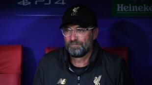 L'entraîneur de Liverpool Jurgen Klopp lors de la victoire sur Tottenham en finale de Ligue des champions le 1er juin 2019