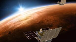 Marte es ahora frío, árido y desértico, pero solía ser cálido y húmedo y albergaba una gran cantidad de agua líquida y lagos hace al menos 3.600 millones de años.
