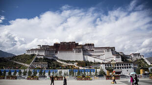 The Potala Palace in Lhasa, capital of China's Tibet Autonomous Region