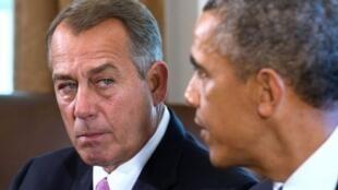 John Boehner et Barack Obama