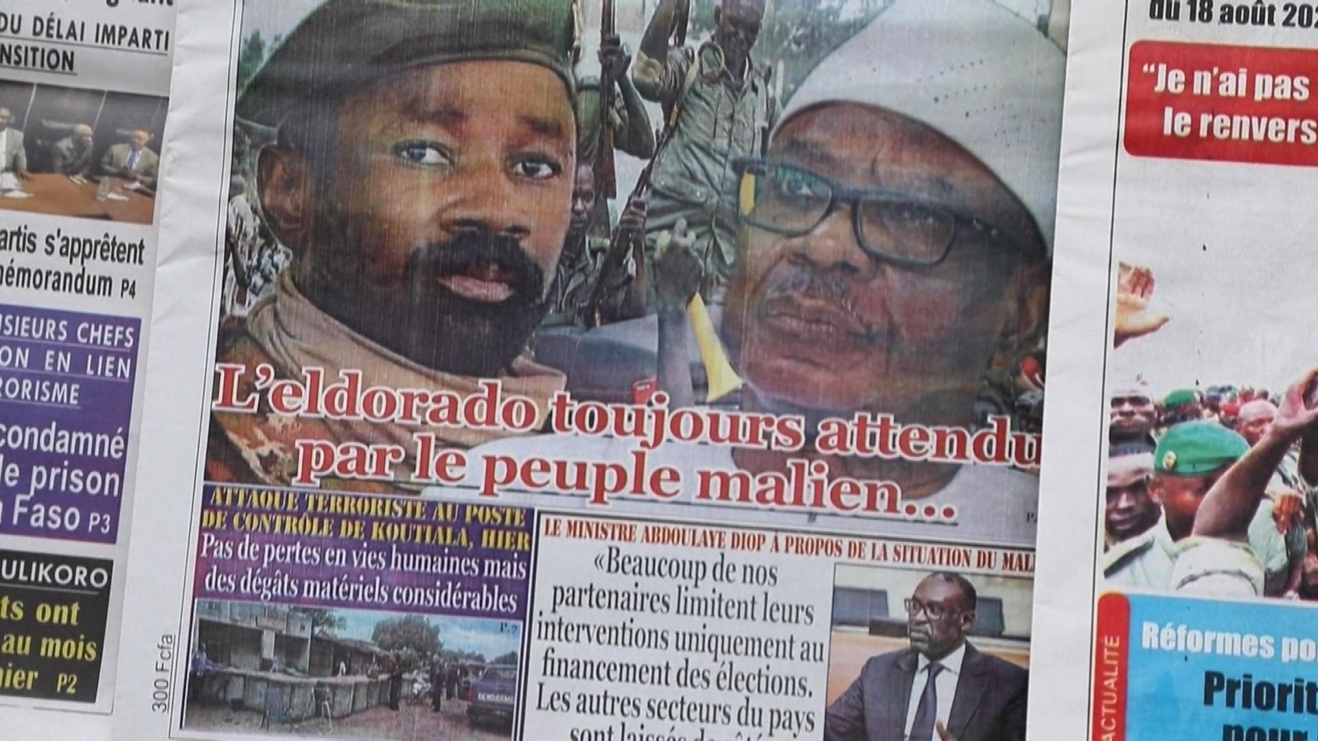 Un an après le coup d'Etat au Mali, les défis restent immenses.