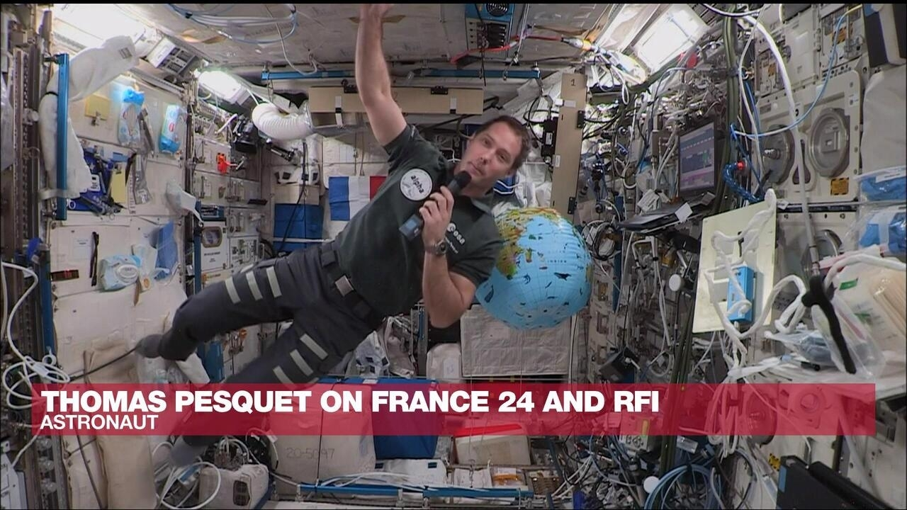 france24.com - Sylvain ROUSSEAU - The Interview - Exclusive: French astronaut Thomas Pesquet speaks to FRANCE 24 and RFI from space