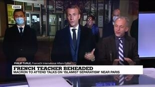 2020-10-20 14:03 French mosque shut over message linked to teacher beheading