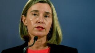 وزيرة خارجية الاتحاد الأوروبي فيدريكا موغيريني
