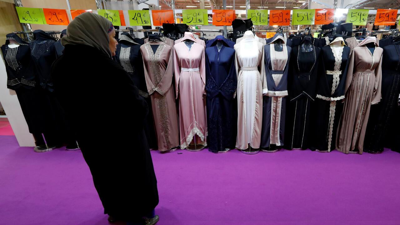 France hijab woman