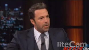 Ben Affleck invité de l'émission Real Time, vendredi 3 octobre.