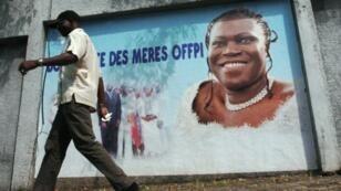 Affiche du FPI apportant son soutien à Simone Gbagbo.