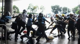 Police have been accused of using unnecessary force in putting down protests that rocked Hong Kong