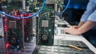 Laboratoire de recherche d'IBM à San Jose, en Californie.