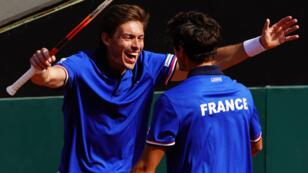 La paire française n'a fait qu'une bouchée de son homologue italienne.