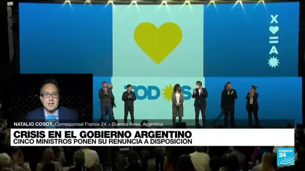 2021-09-16 01:01 Informe desde Buenos Aires: funcionarios del Gobierno argentino renunciaron a sus cargos