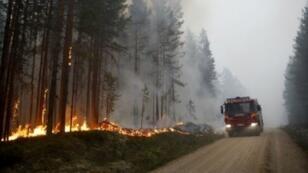 حرائق في السويد