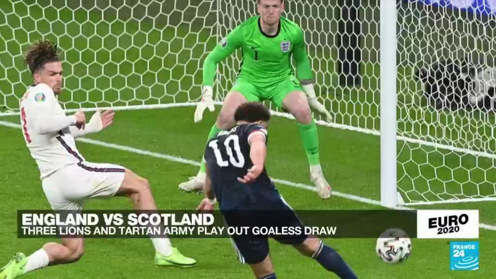 2021-06-18 23:47 Scotland hold England to goalless draw in Euro 2020 clash at Wembley
