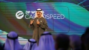 """مؤتمر لمجموعة """"موانئ دبي"""" في دبي في 29 نيسان/ابريل 2018"""