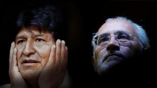Si se confirman los resultados preliminares, Evo Morales y Carlos Mesa deberán medir sus fuerzas en diciembre.