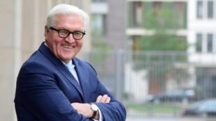 وزير الخارجية الألماني والمرشح لرئاسة البلاد فرانك فالتر شتاينماير