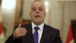 رئيس الحكومة العراقية حيدر العبادي