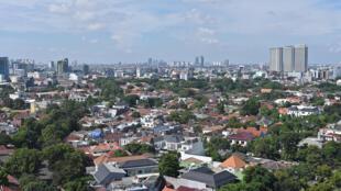 Una zona residencial de Yakarta, en una imagen del 5 de mayo de 2020