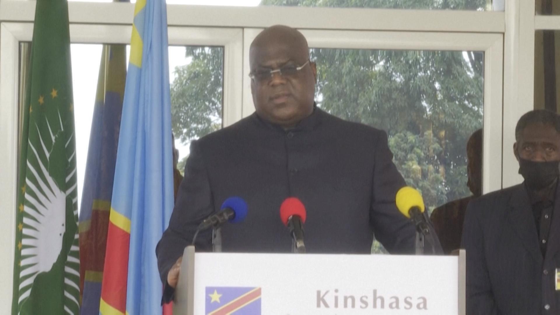 """En visite à Goma, Félix Tshisekedi estime que l'état de siège """"n'a pas de temps limité"""""""